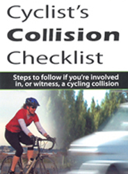 Cyclist's Collision Checklist