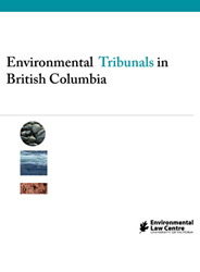 Environmental Tribunals in BC cover