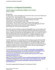 Consortium on Regional Sustainability