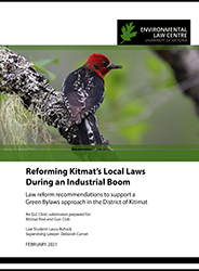 Cover Reforming Kitimats Local Laws