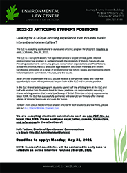 Elc 2022 23 Articled Student Ad