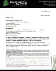 Cover 2021 02 01 Ethylene Project Regional Assessment Request Ltr